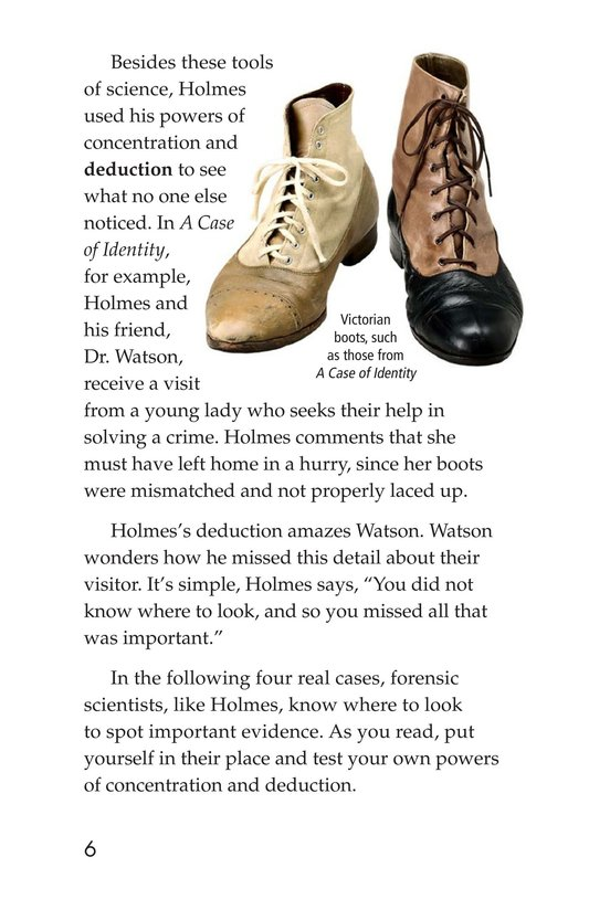 Book Preview For Seeing the Evidence: Forensic Scientists at Work Page 6