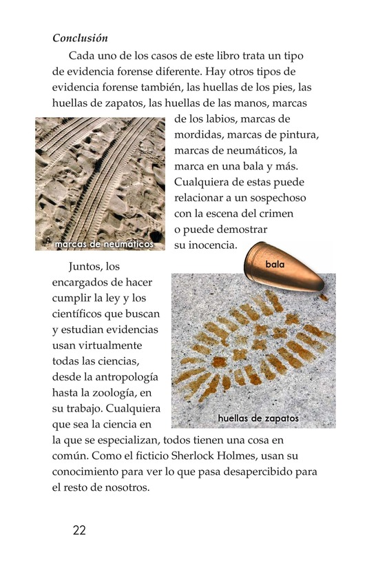 Book Preview For Seeing the Evidence: Forensic Scientists at Work Page 22