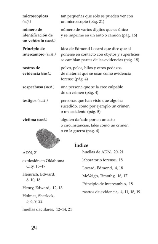 Book Preview For Seeing the Evidence: Forensic Scientists at Work Page 24