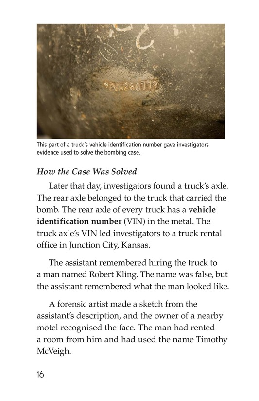Book Preview For Seeing the Evidence: Forensic Scientists at Work Page 16