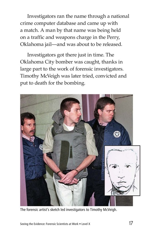 Book Preview For Seeing the Evidence: Forensic Scientists at Work Page 17