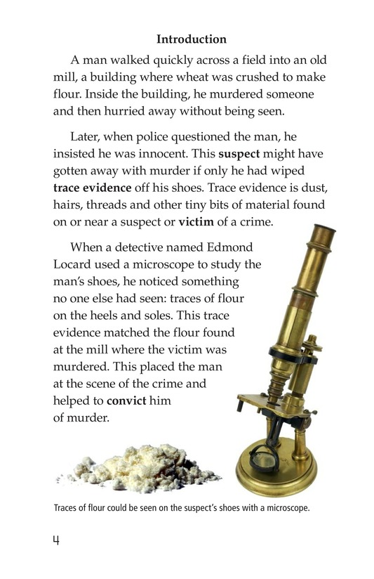 Book Preview For Seeing the Evidence: Forensic Scientists at Work Page 4