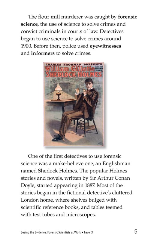Book Preview For Seeing the Evidence: Forensic Scientists at Work Page 5