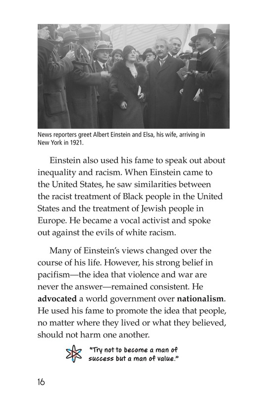 Book Preview For Albert Einstein Page 16