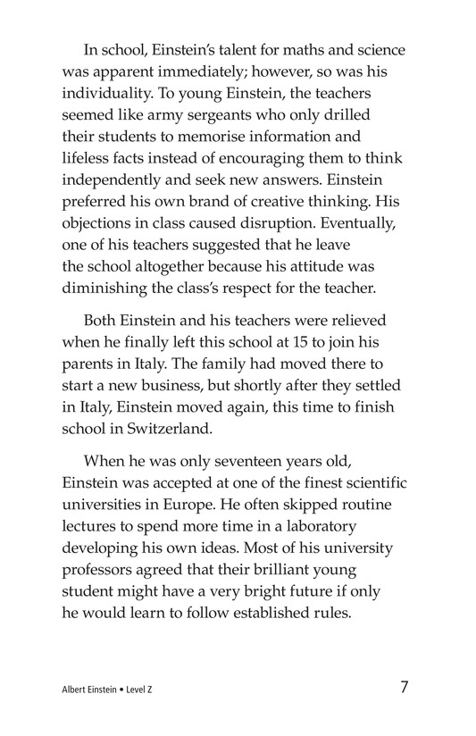 Book Preview For Albert Einstein Page 7