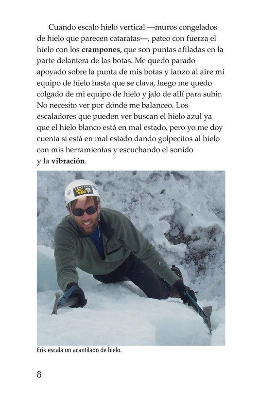 Book Preview For Climbing Mountains: An Interview with Erik Weihenmayer Page 8