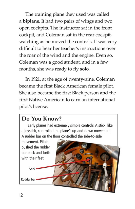 Book Preview For Bessie Coleman Page 12