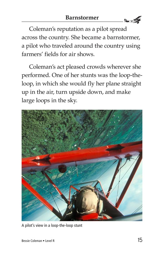 Book Preview For Bessie Coleman Page 15