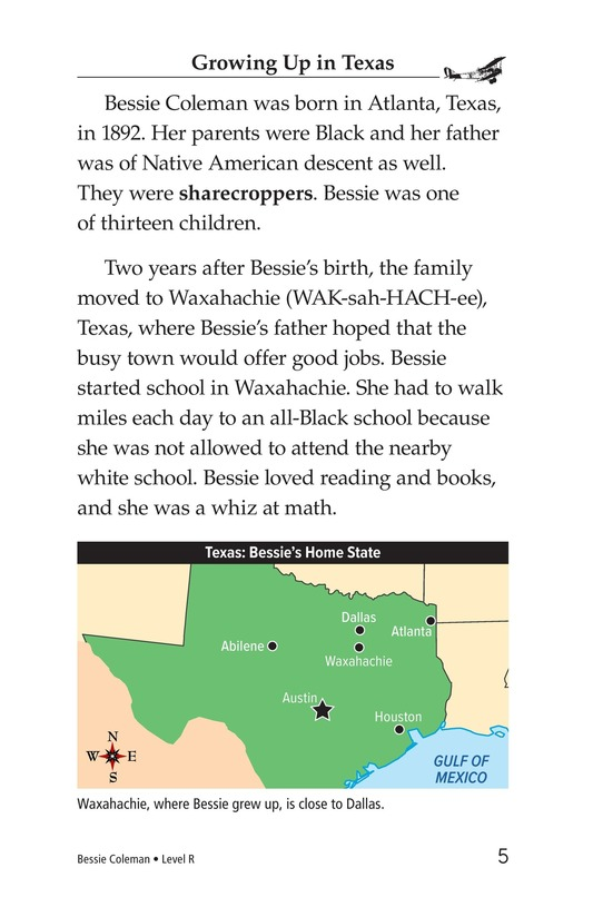 Book Preview For Bessie Coleman Page 5