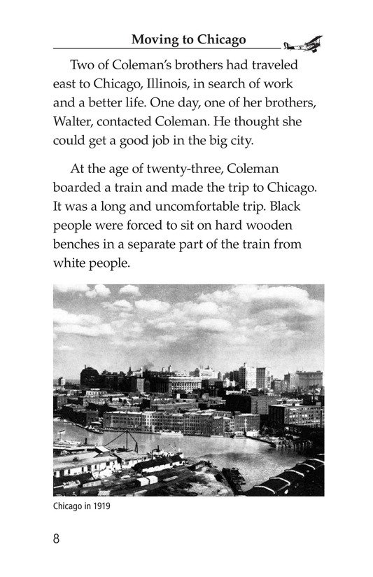 Book Preview For Bessie Coleman Page 8