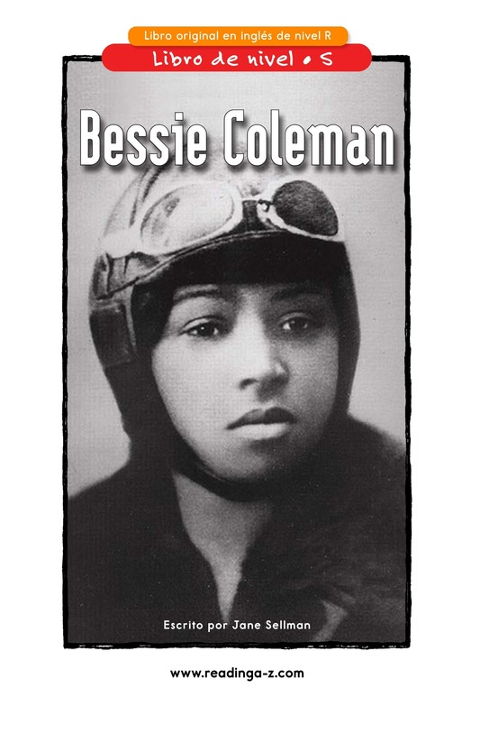 Book Preview For Bessie Coleman Page 1