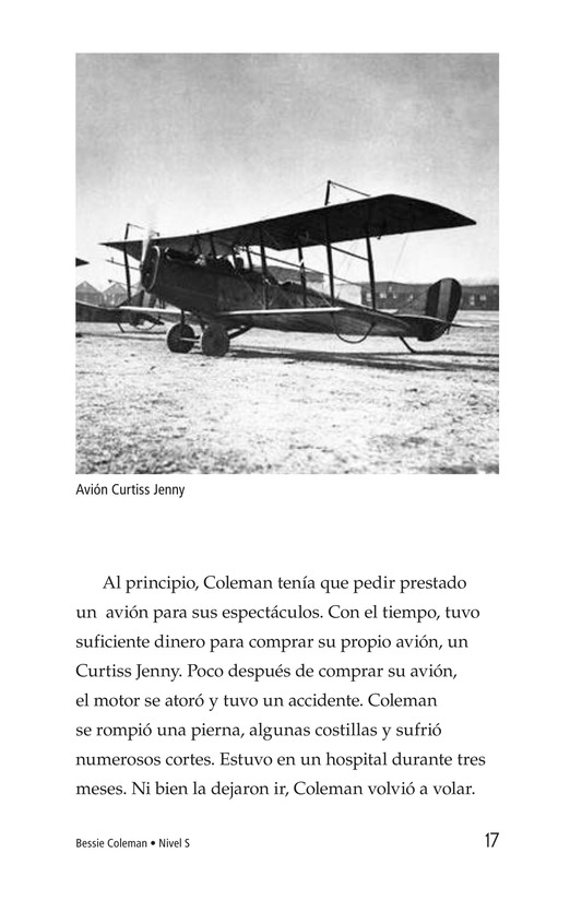Book Preview For Bessie Coleman Page 17
