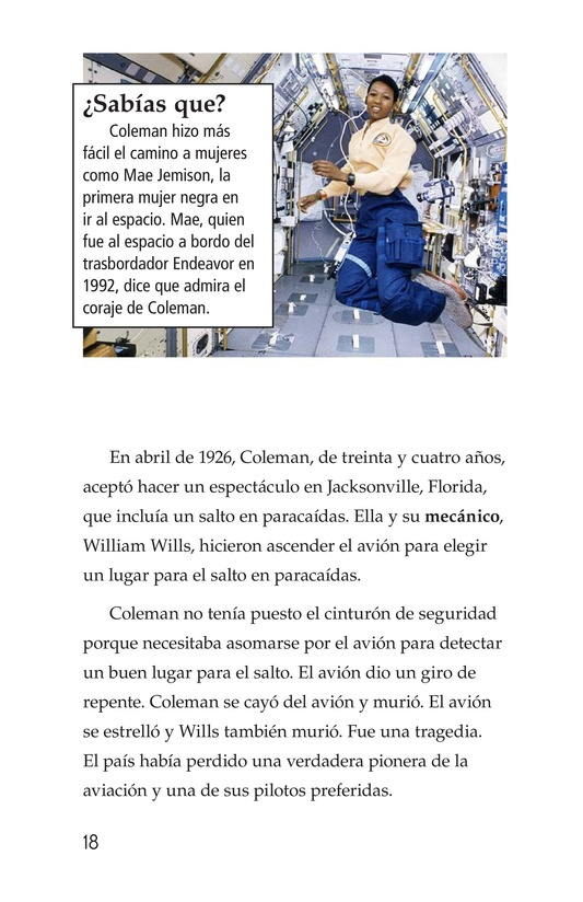 Book Preview For Bessie Coleman Page 18