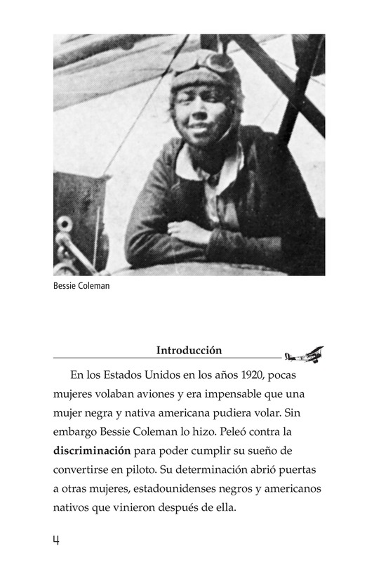 Book Preview For Bessie Coleman Page 4