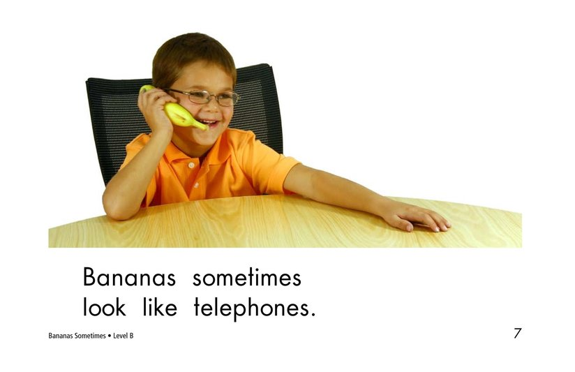 Book Preview For Bananas Sometimes Page 7