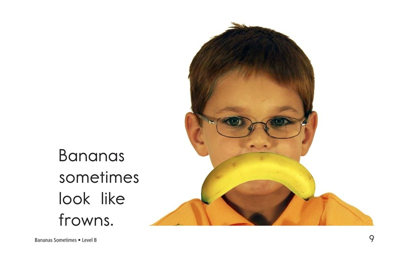 Book Preview For Bananas Sometimes Page 9