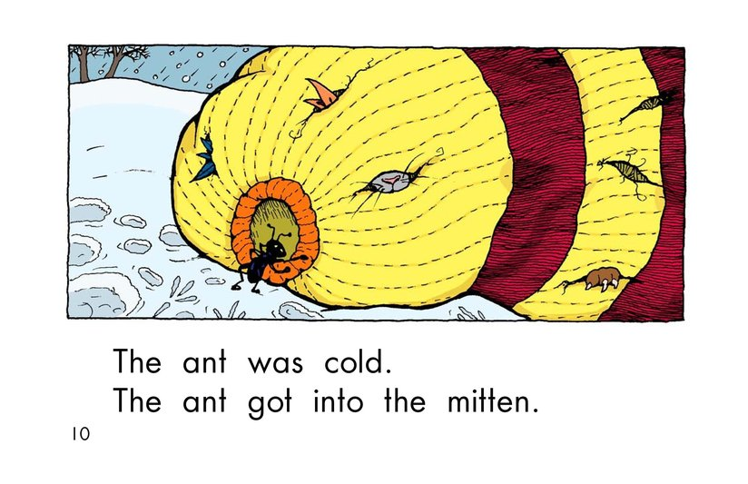 Book Preview For The Mitten Page 10