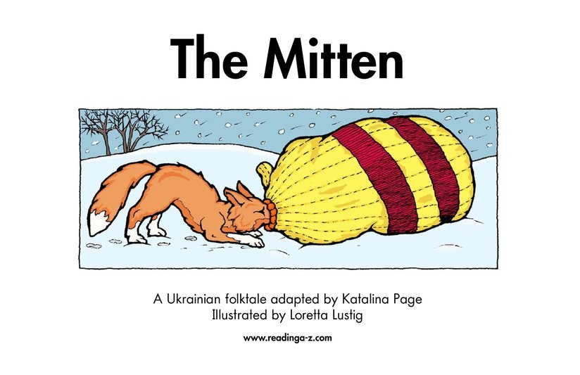 Book Preview For The Mitten Page 2