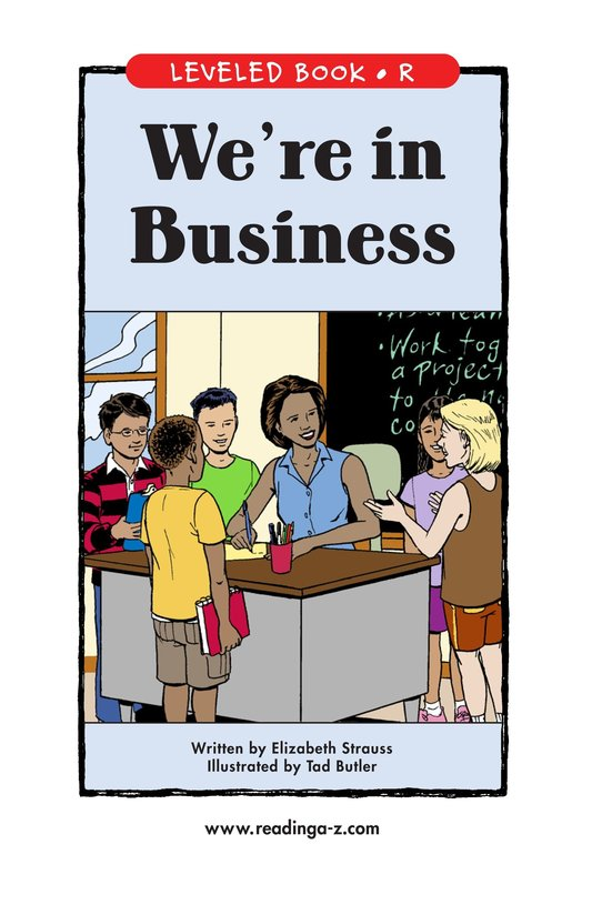 Book Preview For We're in Business Page 1