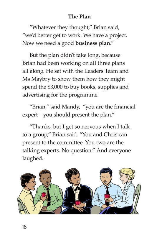 Book Preview For We're in Business Page 18
