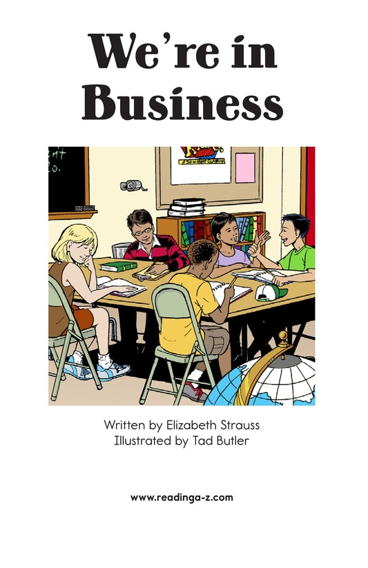 Book Preview For We're in Business Page 2