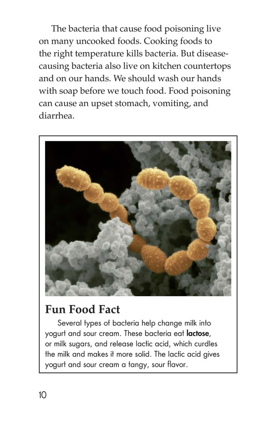 Book Preview For Microbes: Friend or Foe? Page 10