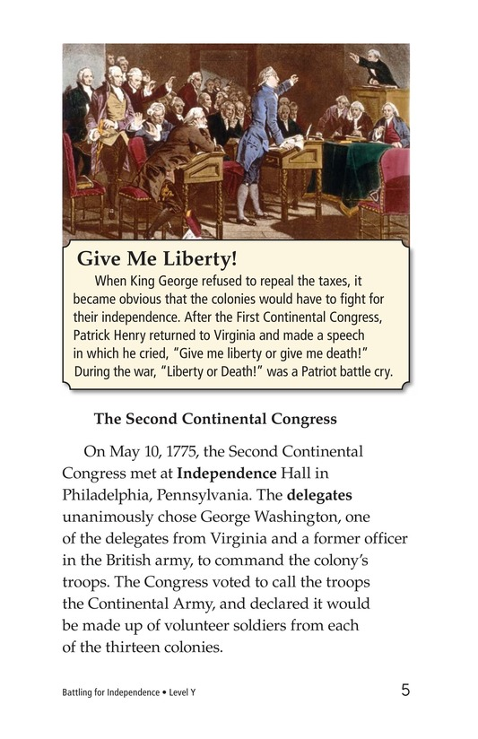 Book Preview For Battling for Independence Page 5