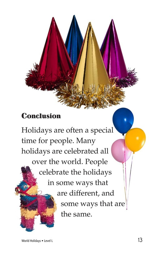 Book Preview For World Holidays Page 13