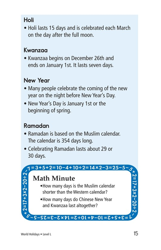 Book Preview For World Holidays Page 15
