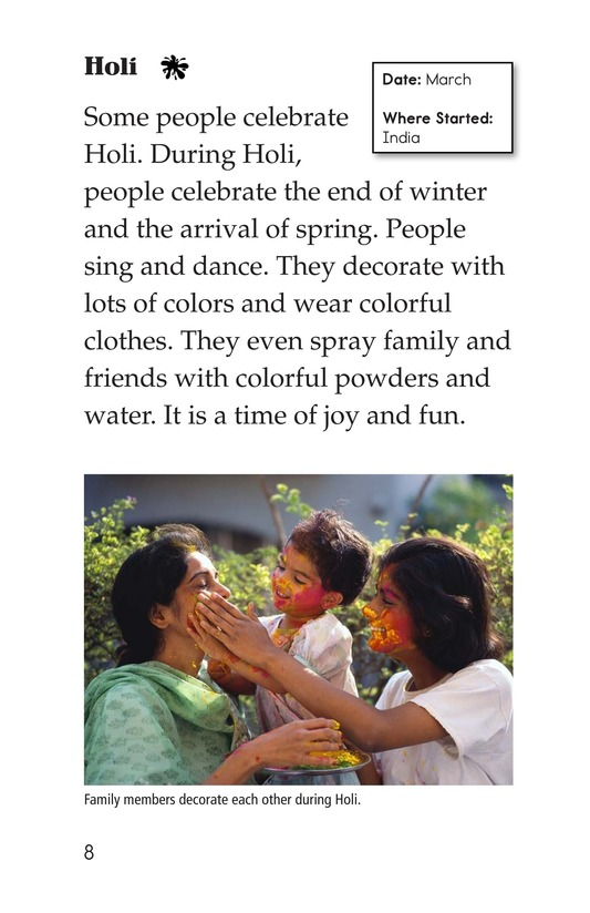 Book Preview For World Holidays Page 8