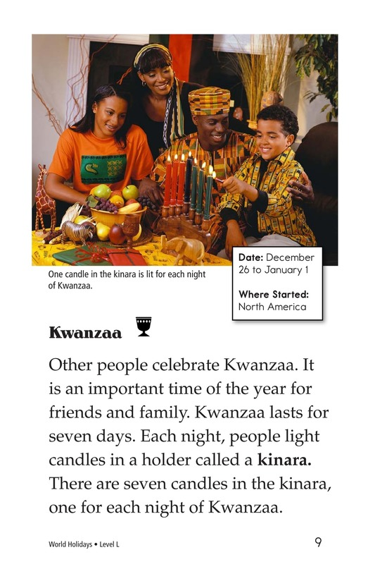 Book Preview For World Holidays Page 9