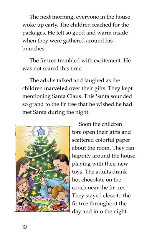 Book Preview For The Little Fir Tree Page 10