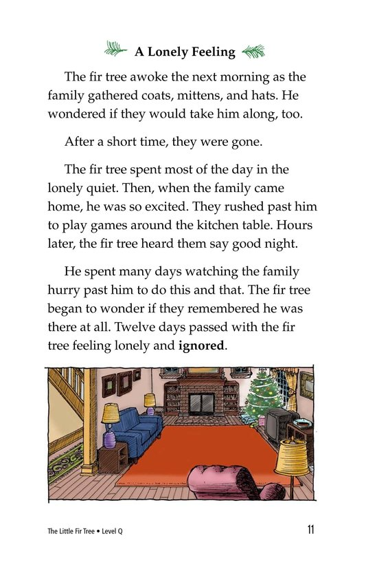 Book Preview For The Little Fir Tree Page 11