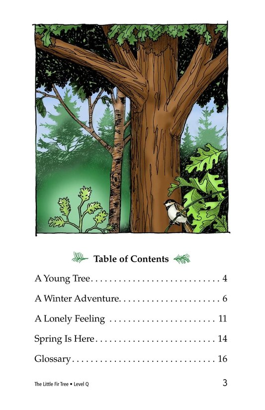 Book Preview For The Little Fir Tree Page 3