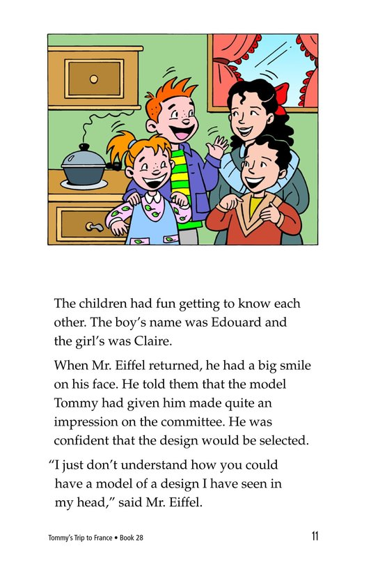 Book Preview For Tommy's Trip to France Page 11