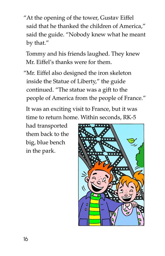 Book Preview For Tommy's Trip to France Page 16