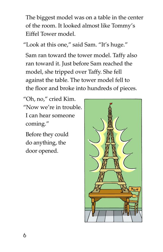 Book Preview For Tommy's Trip to France Page 6