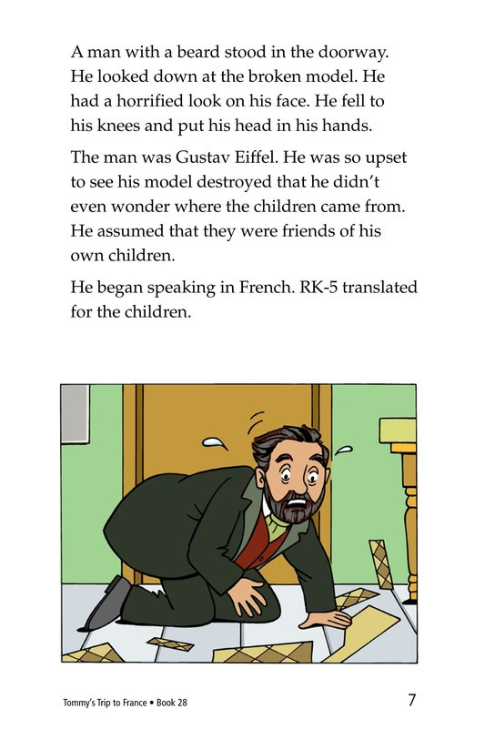 Book Preview For Tommy's Trip to France Page 7