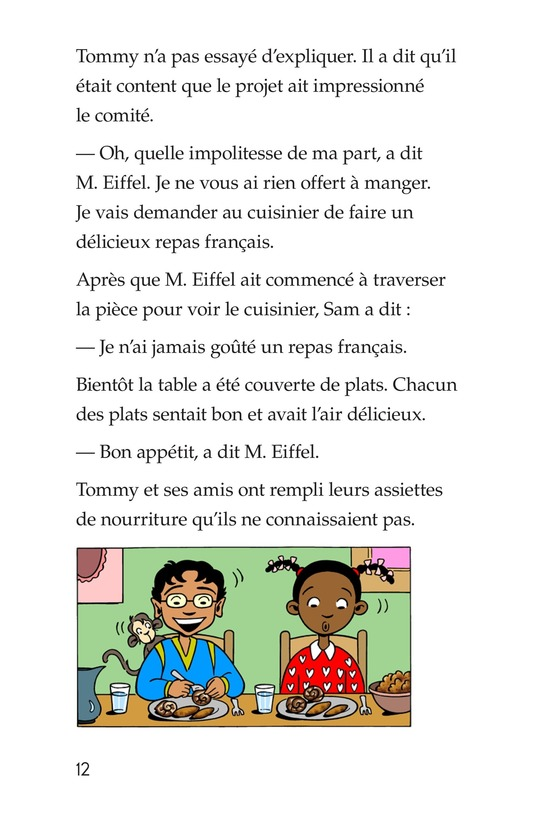 Book Preview For Tommy's Trip to France Page 12