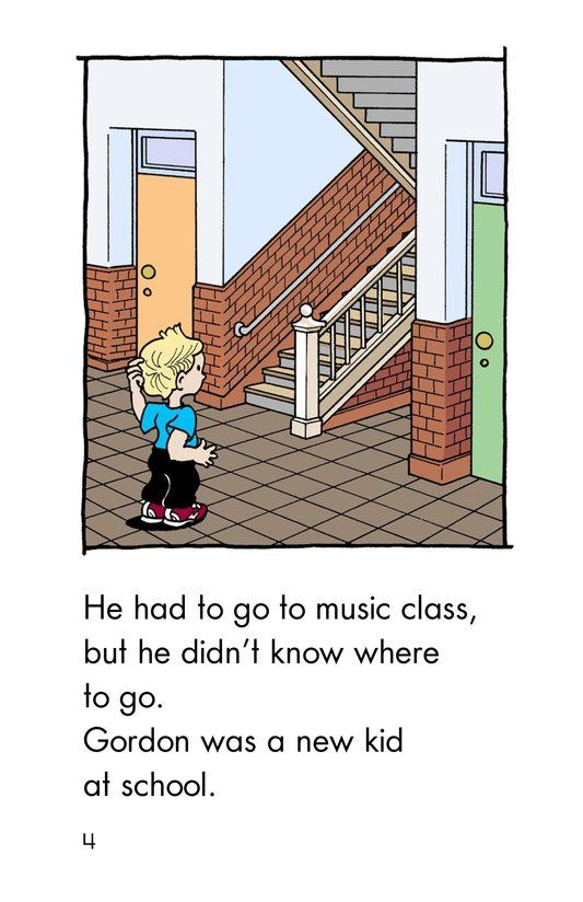 Book Preview For Gordon Finds His Way Page 4