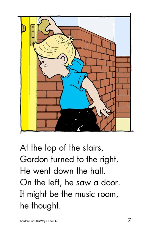 Book Preview For Gordon Finds His Way Page 7