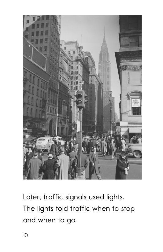 Book Preview For Garrett Morgan and the Traffic Signal Page 10