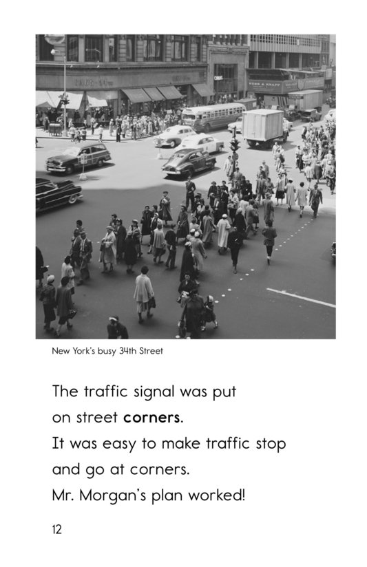 Book Preview For Garrett Morgan and the Traffic Signal Page 12