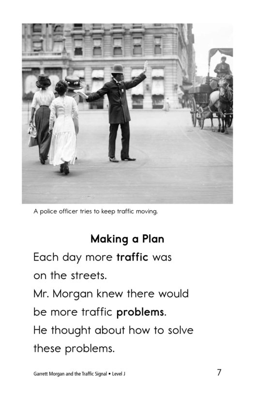 Book Preview For Garrett Morgan and the Traffic Signal Page 7