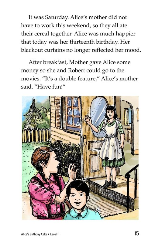Book Preview For Alice's Birthday Cake Page 15