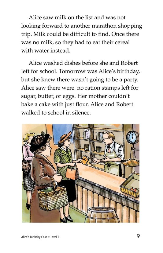 Book Preview For Alice's Birthday Cake Page 9