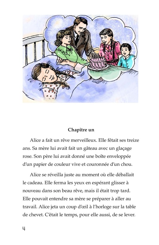Book Preview For Alice's Birthday Cake Page 4