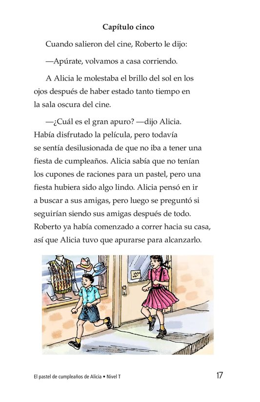 Book Preview For Alice's Birthday Cake Page 17