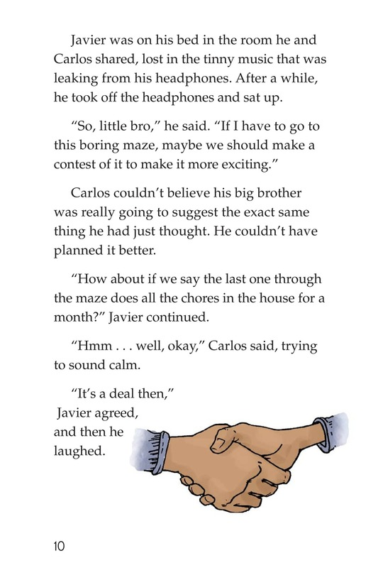 Book Preview For Carlos's Puzzle Page 10