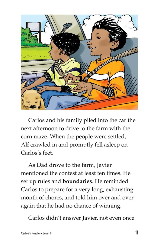 Book Preview For Carlos's Puzzle Page 11